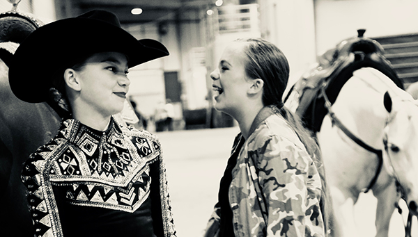 Around the Rings TX Am State Championship/BCQHA Show