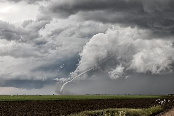 June, 2017- Carpenter, Colorado tornado