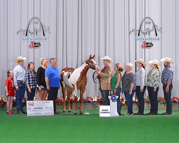 AQHA, APHA, and ApHC Competitors Score Big at 2018 Solid Gold Futurity