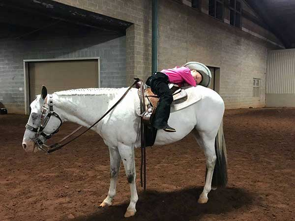 EC Photo of the Day- Horse Show Nap Time