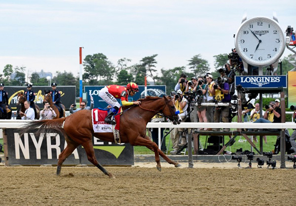 Your 2018 Triple Crown Champion is Justify!