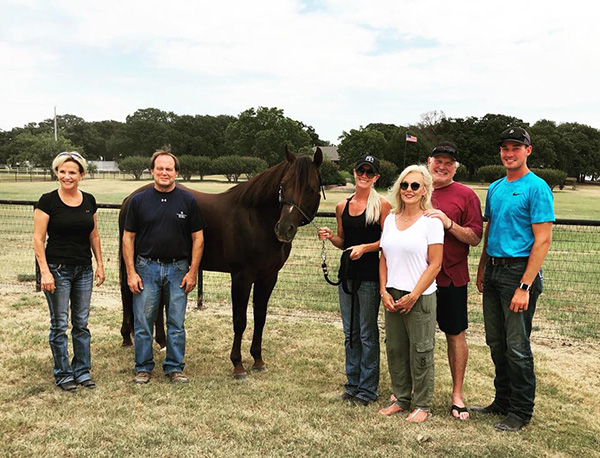 Bradshaw Family Welcomes AQHA Stallion, Extremely Hot Chips, to the Herd