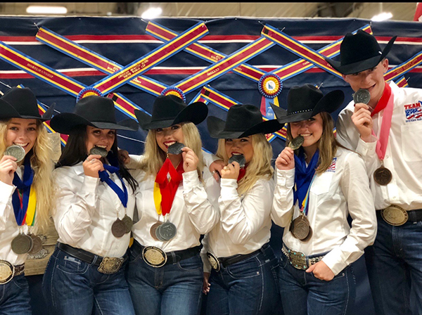 Team USA Makes Memories to Last a Lifetime Winning AQHA Youth World Cup
