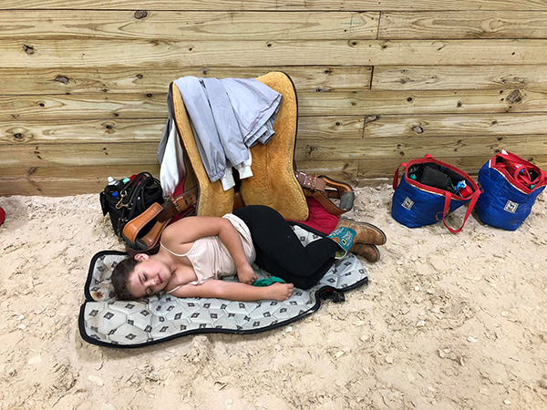 EC Photo of the Day- Horse Showing is Hard Work