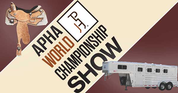 Exciting New Prizes Await Lucky Amateurs at 2018 APHA World Show