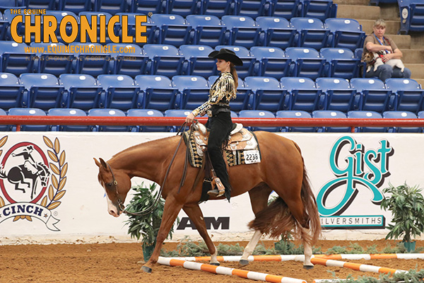 Lauren Hall and Emily Miller Win 13 and Under Trail Classes at APHA Youth World