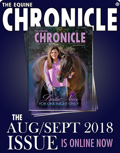 Check Out Aug/Sept Equine Chronicle Online Now!
