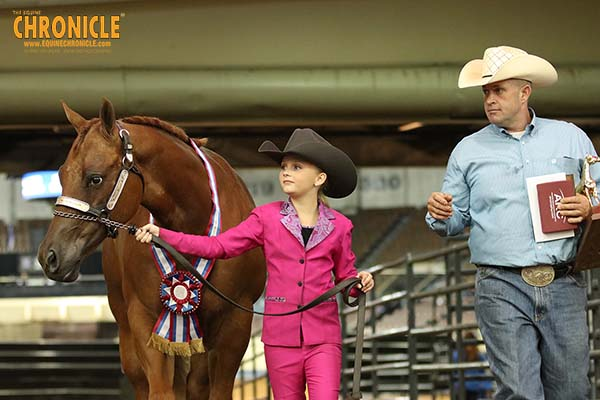 EC Video- My First AQHA Youth World- Audrey Cole
