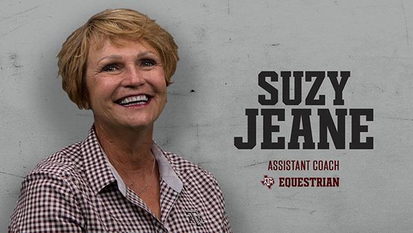 Suzy Jeane Named Texas A&M Horsemanship Coach