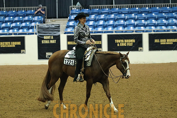 EC Video- BCF 2-Year-Old Open Color Western Pleasure With Sara Simons