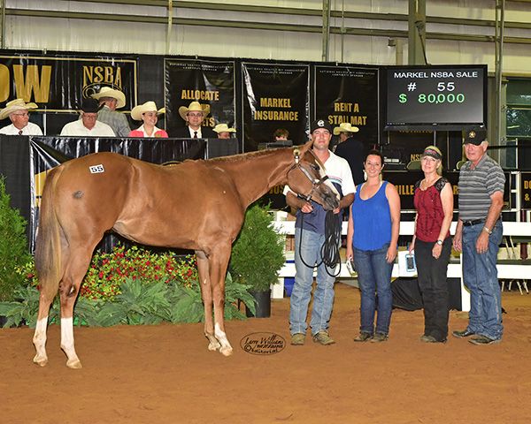 Markel Insurance Yearling Sale at NSBA World Breaks Records at $1.2 Million