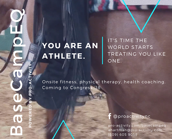 Personal Training Coming to 2018 QH Congress With BaseCampEQ