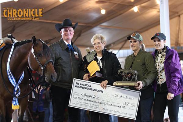 EC TV- 2018 QH Congress- 3 and Over $2,500 Novice Horse Western Pleasure