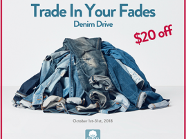 Trade in Your Faded Jeans With Kimes Ranch Jeans This Oct. For a Good Cause