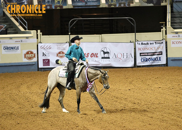 World and Congress Champion, Cool Cruzen Lady, Joins Ihde Show String