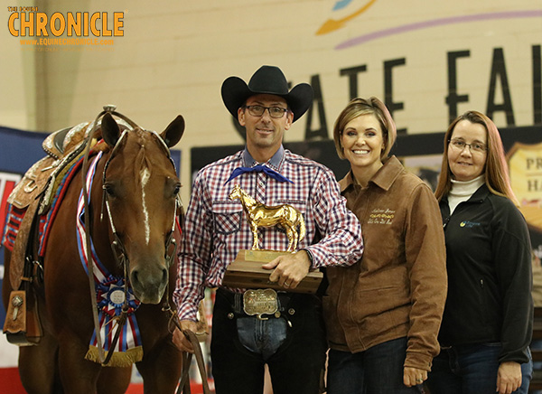 Heidi Rasor Purchases Jr. L2 Western Pleasure Champion, Full Drape