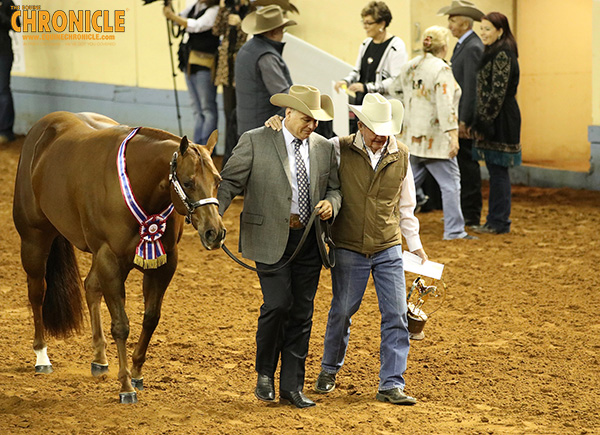 The High of Highs and Low of Lows at AQHA World Show For Robinson Family