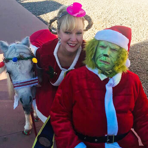 EC Photo of the Day- The Grinch… and His Mini Horse