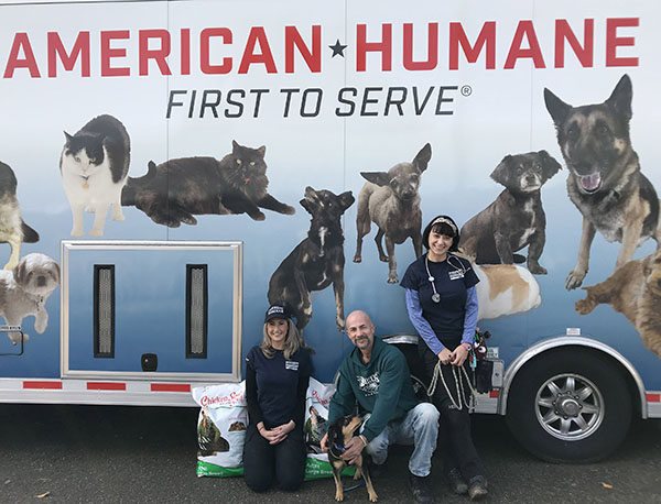 Two Tons of Aid Delivered to Animal Victims of California Wildfires