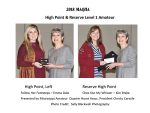 Mississippi QHA Year-End Results and Photos