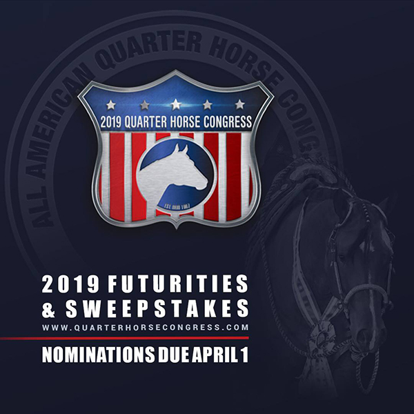 2019 QH Congress Futurity and Sweepstakes Entry Info Online