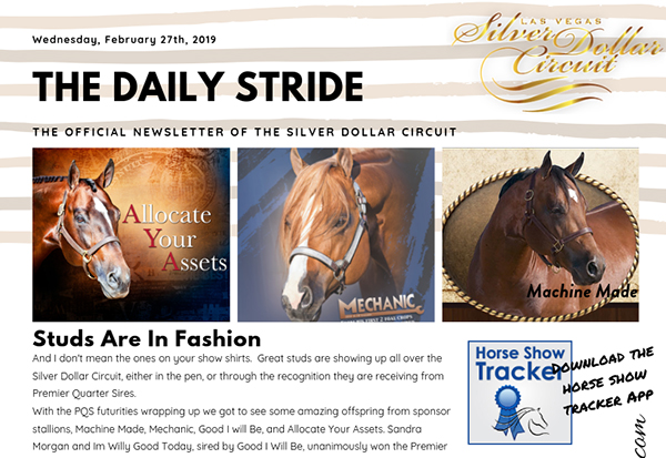 Silver Dollar Circuit- The Daily Stride- Studs are in Fashion