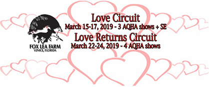 Everything You Need to Know About Love and Love Returns, APHA ENC, Aggie Super Circuit, Maple Leaf, Georgia On My Mind, IQHYA