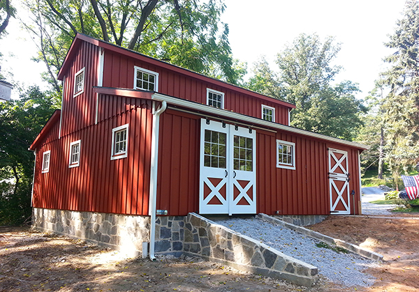 How to Build a Low Maintenance Horse Barn