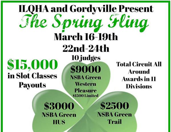 Feeling Lucky? ILQHA Spring Fling to Award $15,000 in Slot Classes