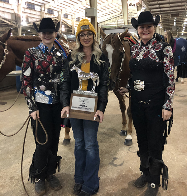 My First AQHA Level 1 Championship Show- With Abby Bruno