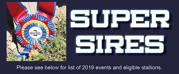 2019 Super Sires Event and Entry Information