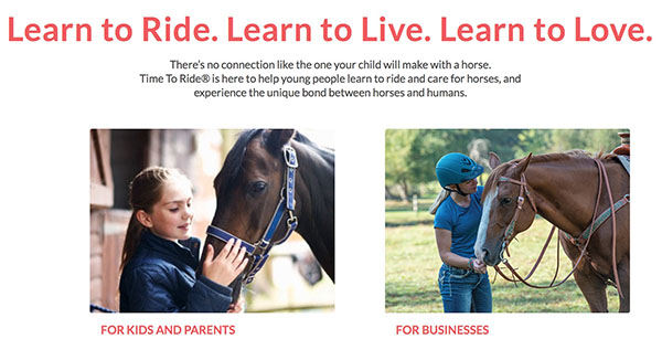 Time To Ride Program Hopes to Introduce School-Age Kids to Horses