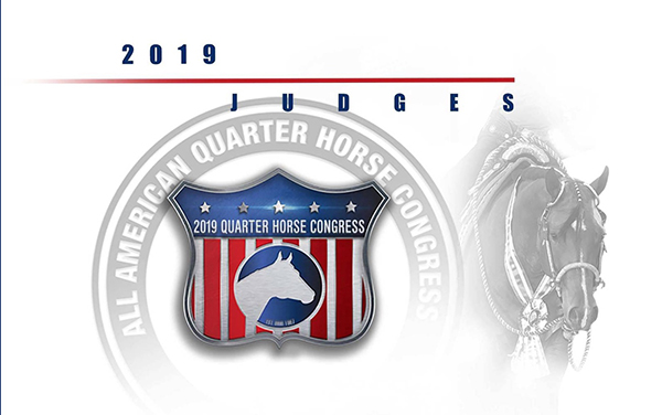 Judges Announced For 2019 QH Congress