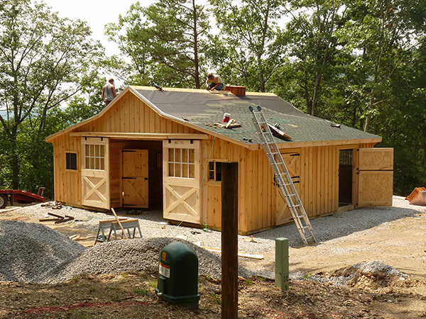 Is Your New Horse Barn Permitted?