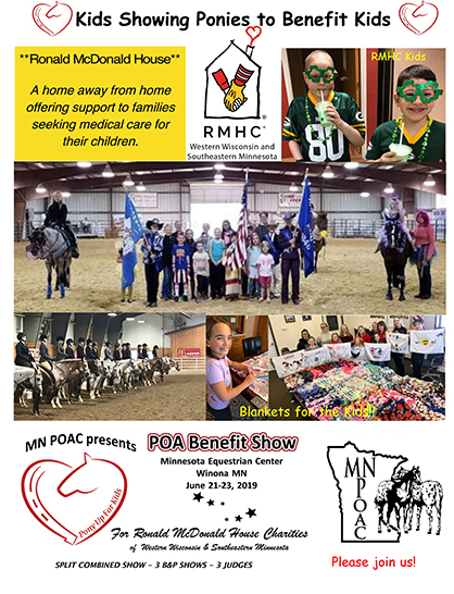 Kids Will Show Horses to Help Kids With Cancer