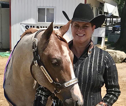Nancy Ditty and A Cowboy For You Win WPSS Longe Line