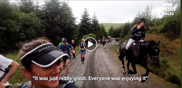 40th Running of Man Versus Horse Marathon