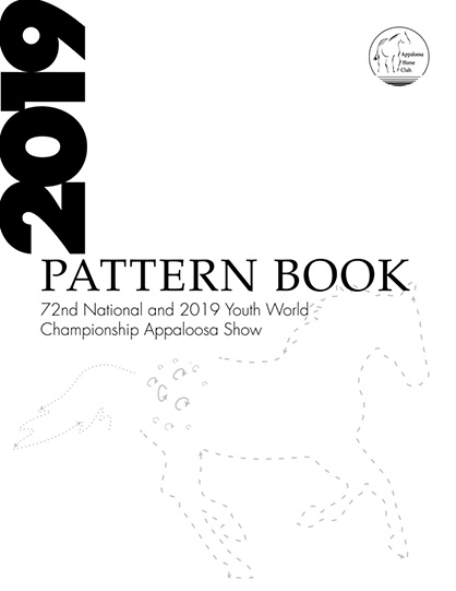 Pattern Book for Appaloosa Nationals and Youth World Show