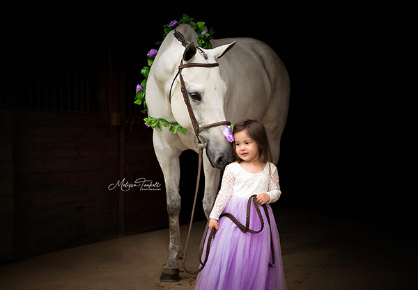 EC Photo of the Day- A Princess and Her Pony