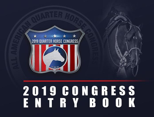 2019 Congress Entry Book is Online