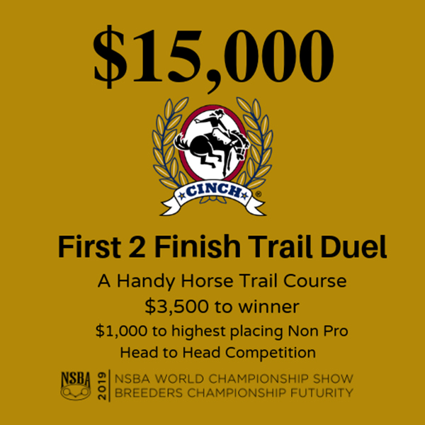 First 2 Finish Trail Duel Returning to NSBA World Show