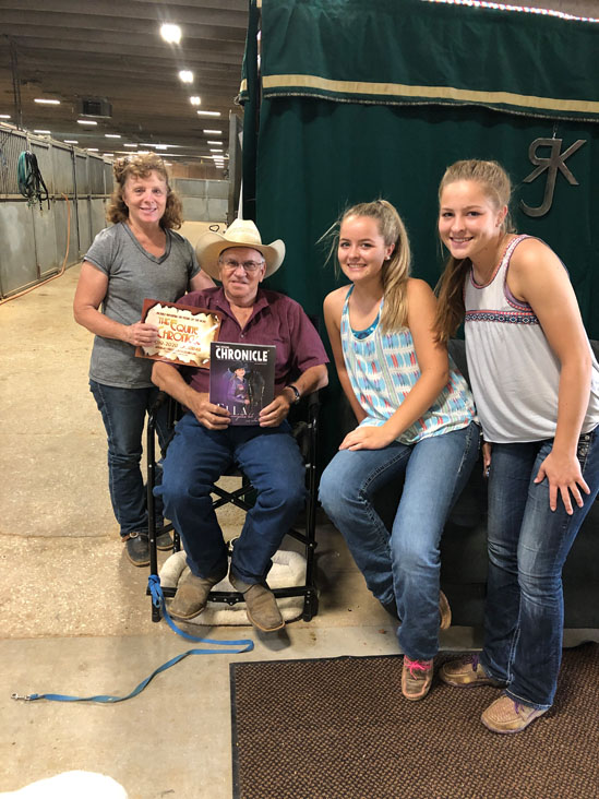 Around the Rings at 2019 Appaloosa Nationals – July 1 with G-Man