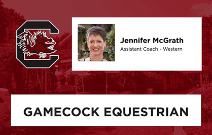 Jennifer McGrath Hired as Gamecocks Western Assistant Coach