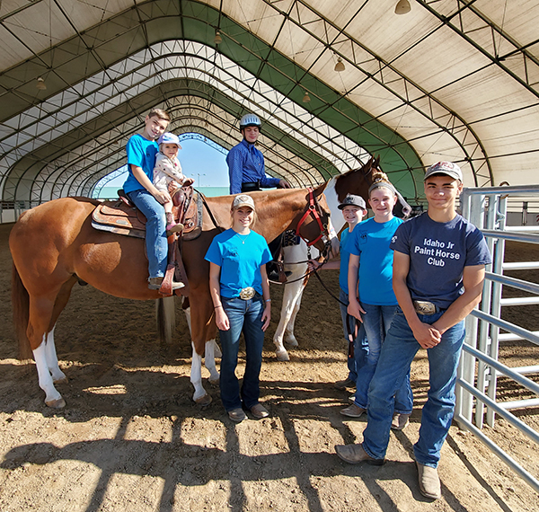CHAMPS Riders Compete For Their Own Accolades at APHA Zone One Show