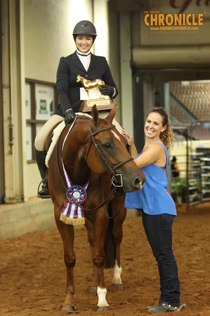 EC TV- L2 Equitation Champion- Rebecca Figueroa and Check Required
