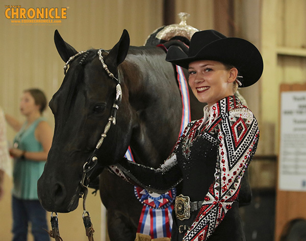 From Trailer Accident to Champion- Kyla Jackson and Cadillac In Black Win L2 Horsemanship at AQHA Youth World
