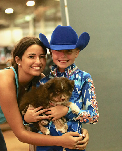 EC TV- First-Time AQHA Youth World Competitor- 9-Year-Old, Megan Renfro