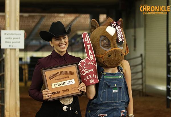 EC TV- NCEA AQHA Horsemanship Challenge Champion- Sarah Orsak