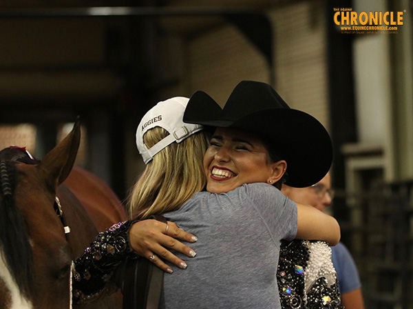 Cori Cansdale and Avery Mortman Win AQHA Youth World Showmanship