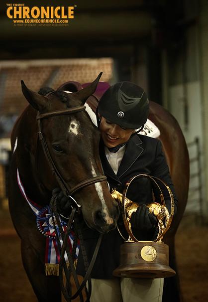 Sydney Sargent and Nya Kearns Win AQHA Youth World Equitation